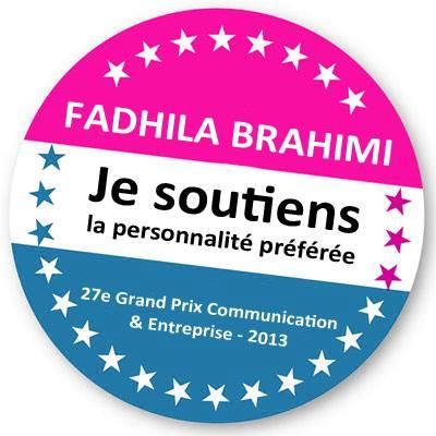 Fadhila_Brahimi_Prix_Personnalite_Ecommunicante_Badge